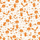 Halloween seamless Royalty Free Stock Image