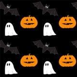 Halloween senza giunte Fotografie Stock