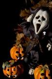 Halloween series on black Stock Images