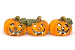 Halloween series on white Royalty Free Stock Photo