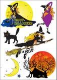Halloween set_1 ilustração royalty free