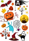 halloween set Obraz Royalty Free