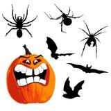 Halloween set Stock Image