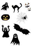 Halloween-Set stock abbildung