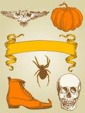 halloween set Fotografia Stock