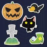 Halloween set Royalty Free Stock Image