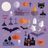 Halloween set1 royalty free illustration