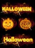 Halloween Set Stock Images