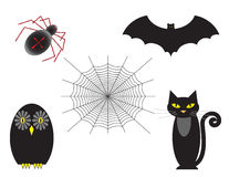 Halloween Set of Five Stock Images