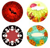 Halloween set Stock Image