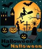 Halloween set. vector Stock Photos