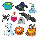 Halloween set Stock Photography
