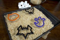 Halloween Shaped Cookie Cutters royalty free stock images