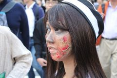 Halloween in Shibuya Stockfoto