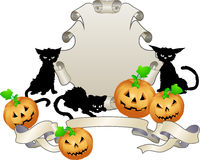 Halloween shield Royalty Free Stock Images