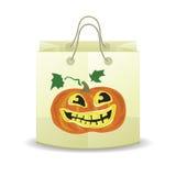 Halloween shopping bag Stock Photography