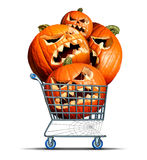 Halloween Shopping Stock Photography