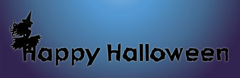 Halloween Sign 2 Royalty Free Stock Photos