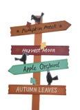 Halloween Sign Stock Photography