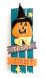 Halloween sign Stock Image