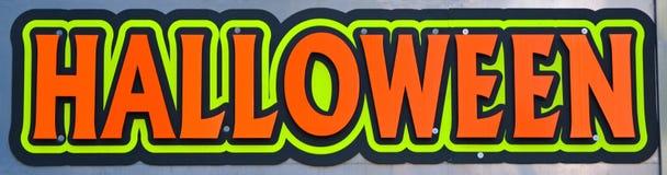 Halloween Sign Stock Photos