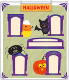 Halloween Signs Stock Photography