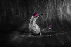 Halloween Skate Pears Royalty Free Stock Photography