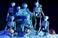 Halloween skeleton Royalty Free Stock Image
