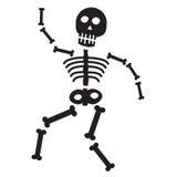 Halloween Skeleton Stock Photo