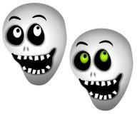 Halloween Skeleton Skulls Royalty Free Stock Image