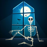 Halloween Skeleton Stock Images