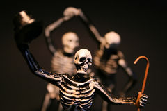 Halloween Skeletons Stock Photos