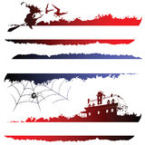 Halloween sketches Royalty Free Stock Image