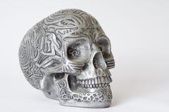 Halloween skull. Royalty Free Stock Photography