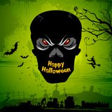 Halloween Skull Royalty Free Stock Photos
