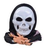 Halloween skull mask. Stock Photo
