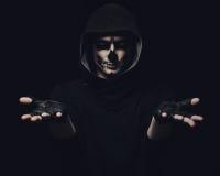 Halloween skull Stock Photo