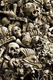 Halloween Skulls And Bones Stock Photography