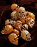 Halloween skulls Stock Image