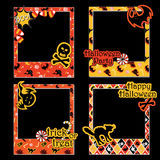 Halloween Small Cards2 Stock Images
