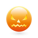 Halloween smile icon Stock Image