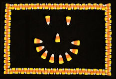 Halloween Smiley Face Stock Image