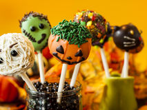 Halloween Snack Royalty Free Stock Photography