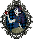 Halloween Snow White Royalty Free Stock Image
