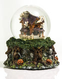 Halloween Snowglobe Stock Photos