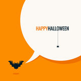 Halloween social media concept background Royalty Free Stock Photo