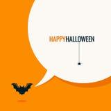Halloween-Social Media-Konzepthintergrund Lizenzfreies Stockfoto