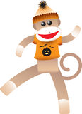 Halloween Sock Monkey Royalty Free Stock Photography