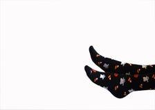 Halloween-Socken lizenzfreies stockbild