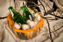 Halloween soda drinks Royalty Free Stock Images